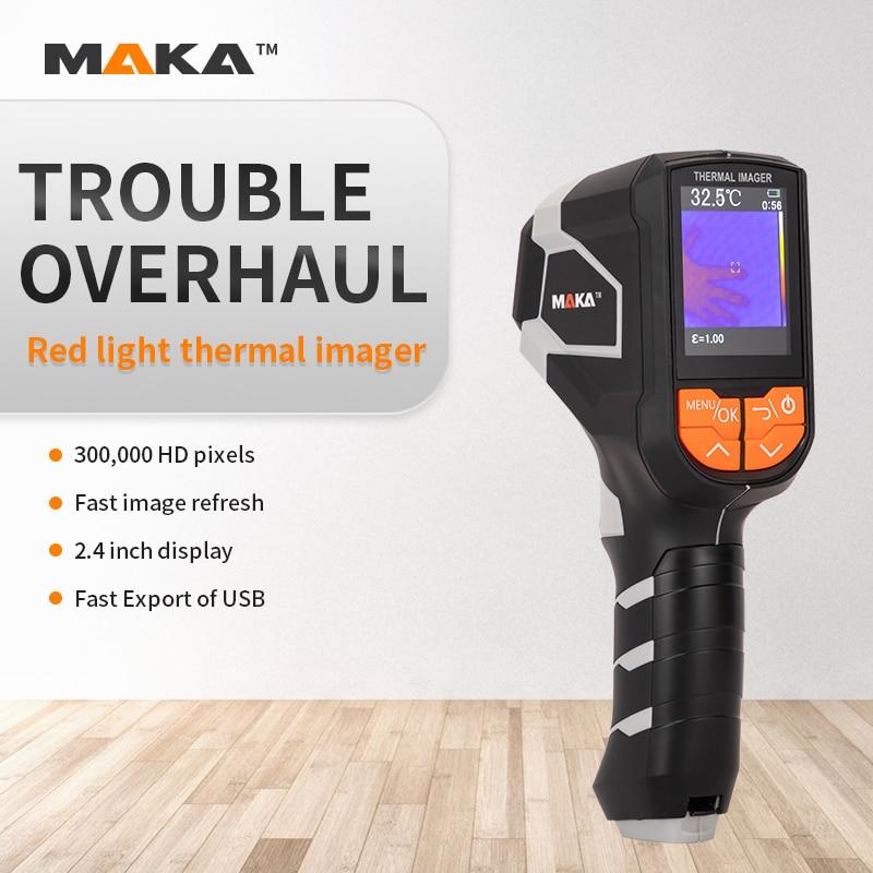 Makar infrared thermal imager hand-held visual temperature meter night vision meter floor heating detector electrical maintenanc
