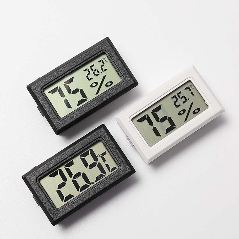 Geladeira freezer termómetro sonda sensor mini digital lcd termometro aquário frigorífico barra termómetro de carro