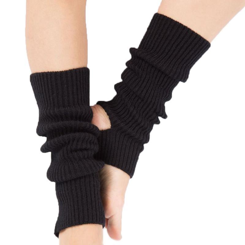 1 Pair Yoga Socks Woman Girls Female Knitted Leg Warmers Boot Socks Calf Protector For Gym Fitness Dance Ballet Exercising Hose