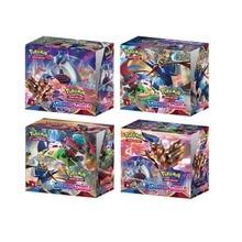 2020 yeni 324 adet Pokemon Pokeball kılıç kalkanı güneş ve ay Evolution Booster kutusu ticaret kart oyunu çocuk koleksiyonu oyuncaklar