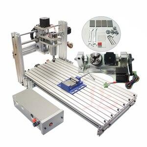 5 Axis Mini CNC 3060 Milling Drilling Machine DIY 6030 USB Port Mach3 Wood Aluminum Carving Machine for Wood Pcbs