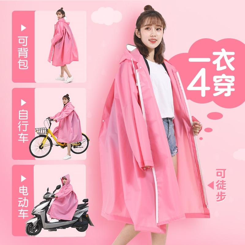 Thick Rain Coat Women Jacket Poncho Travel Hiking Waterproof Cycling Rain Coat Cover Impermeable Chubasquero Mujer Rain Gear 60 enlarge