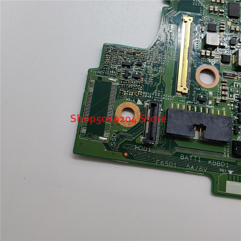 CN-0P380W 0P380W P380W Mainboard For Dell Inspiron 13 5378 5578 NoteBook PC Laptop Motherboard SR2ZV i7-7500U CPU