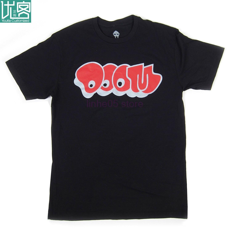 MF Doom Logo camiseta hombres Camiseta de manga corta Stranger Things Print T