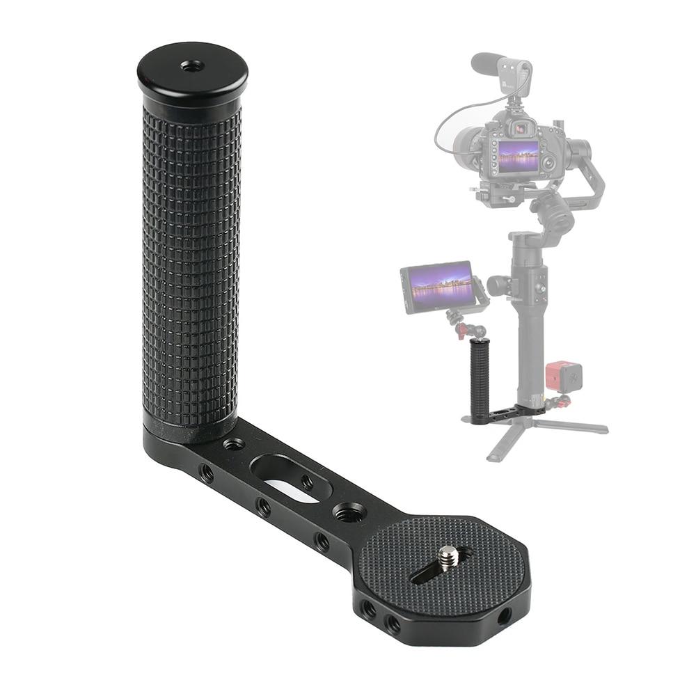 مقبض كاميرا عالمي ، مقبض جانبي من الألومنيوم لـ Ronin S Zhiyun Crane ، سلسلة محمولة ، DSLR ، ملحقات استوديو الصور