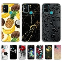 tpu case for huawei honor 8a cases silicon pattern painted funda on honor 9c 9a 9s 9 lite honor 8c 8x 10x lite soft cute cover