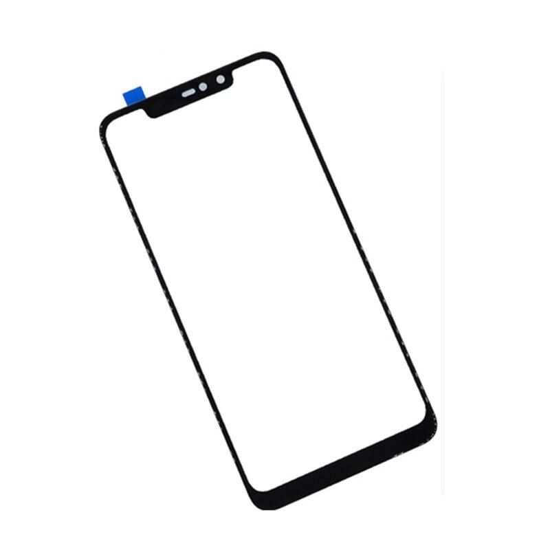 Pantalla exterior para Xiaomi mi 8 Pro/mi 8 explorador Panel táctil frontal pantalla LCD cubierta de cristal piezas de Repuesto de reparación de teléfono