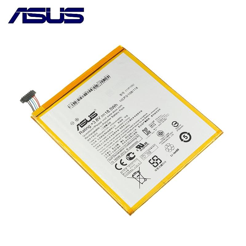 Оригинальная материнская плата ASUS C11P1502 планшетный ПК Батарея для ASUS ZenPad10 Z300C Z300M Z300CG Z300CL P023 P01T 10,1 4890 мАч