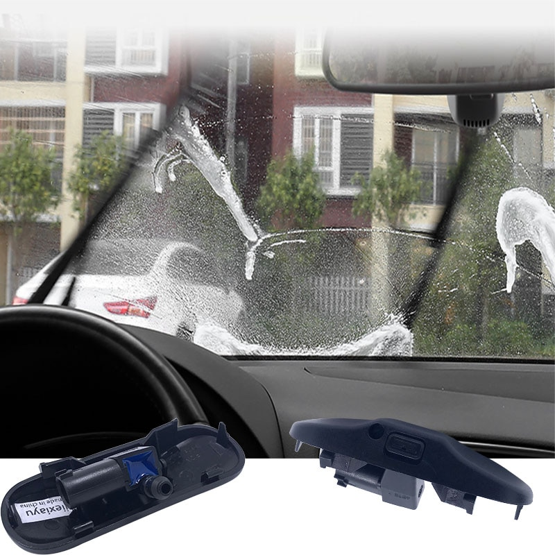 Par de vidro spray de água bico Para A1 1 A3 A4 A5 A6 A7 Q3 Q5 Q7 5M0 2KD 955 986 955 986