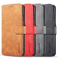 Чехол-книжка для Xiaomi Mi 8, A2 Lite, Pocophone F1, Redmi 6, 6A, Note 6 Pro, кожаный