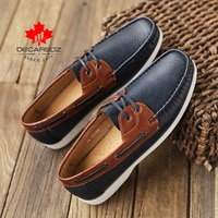 Autumn Men Shoes 2021 New Fashion Loafers Shoes Men Comfy PU Leather Men's Flats Brand Male mocasines Footwear Men Casual Shoes