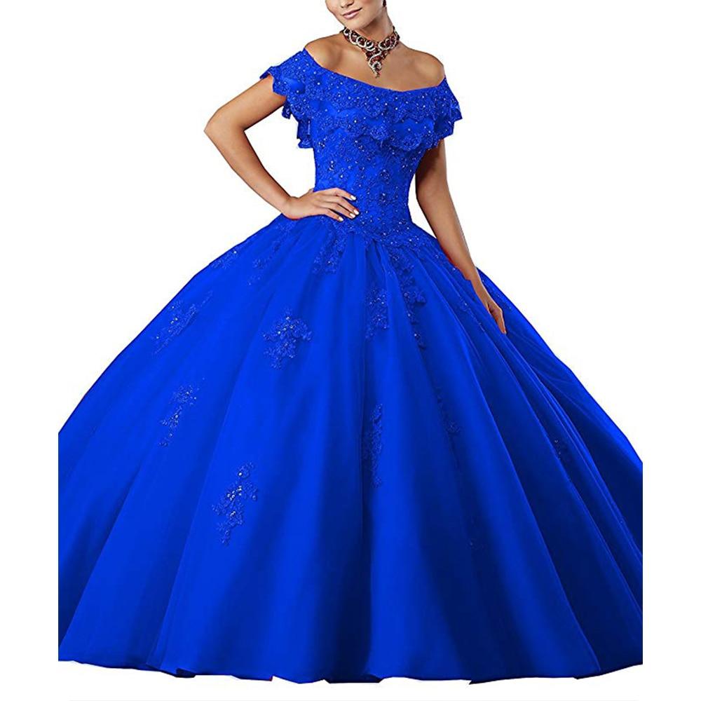 Prom dress ball gown sweetheart beaded quinceanera dress wedding party evening dress