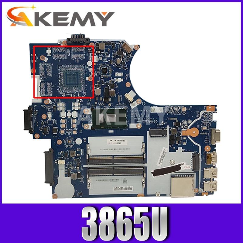 لينوفو ثينك باد E570 E570C اللوحة المحمول 01LW067 CE570 NM-A831 سيليرون 3865U DDR4 GMA HD اختبار كامل