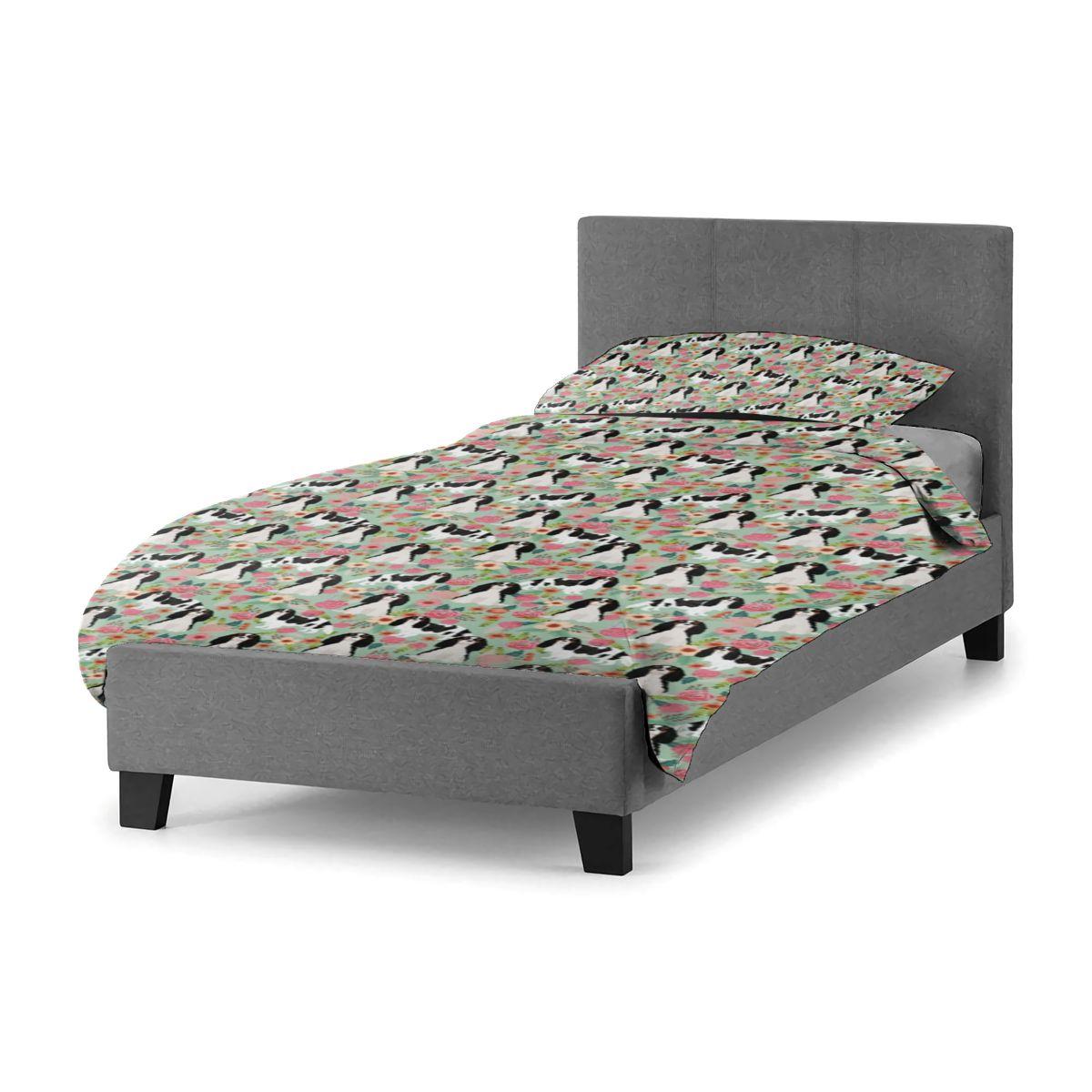 طقم سرير الكلب الكبار رخيصة أغطية سرير غطاء مجموعة ورقة فندق خمر