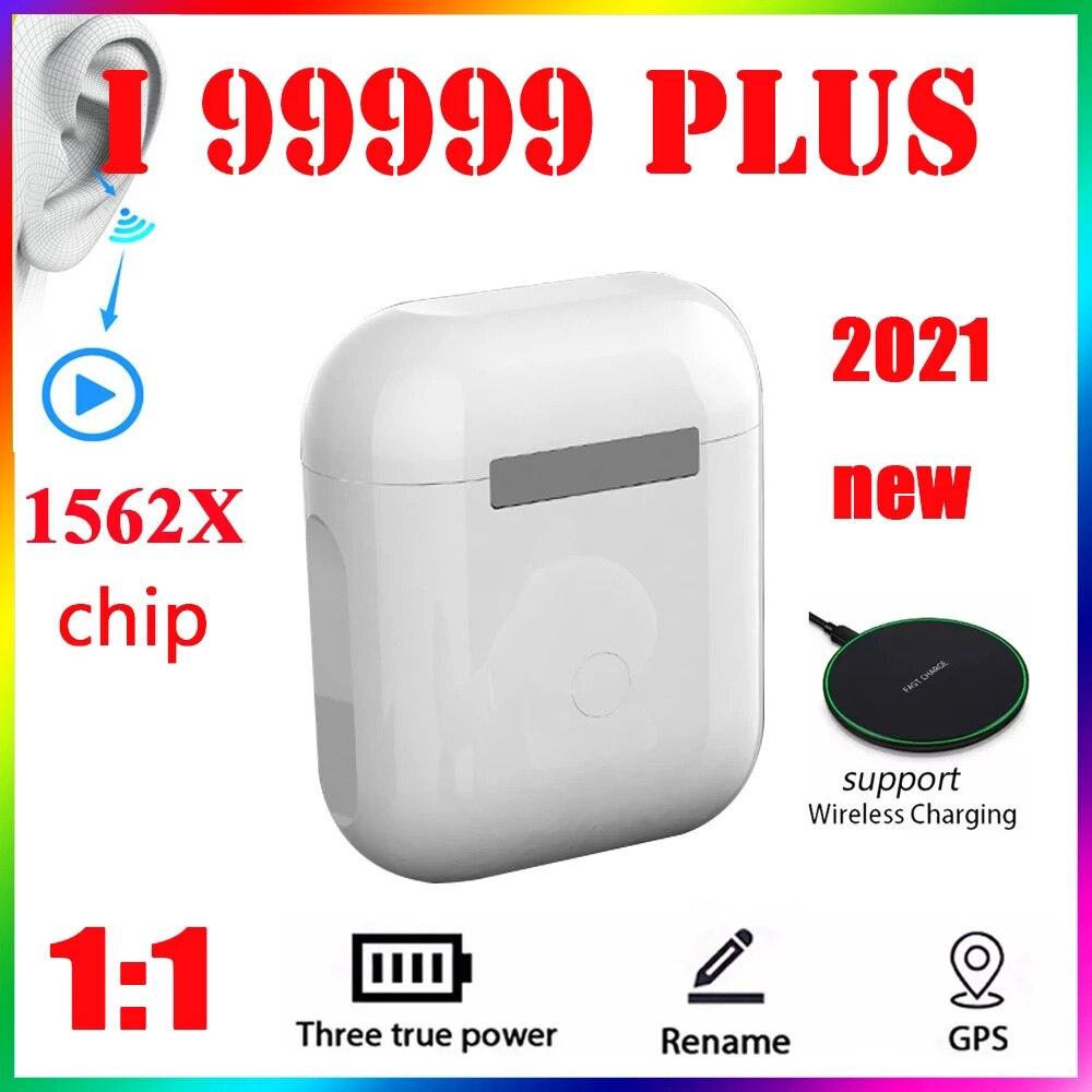 2021 Original i99999 más i9000MAX TWS inalámbrica auricular nombre Bluetooth 5,0 Super...