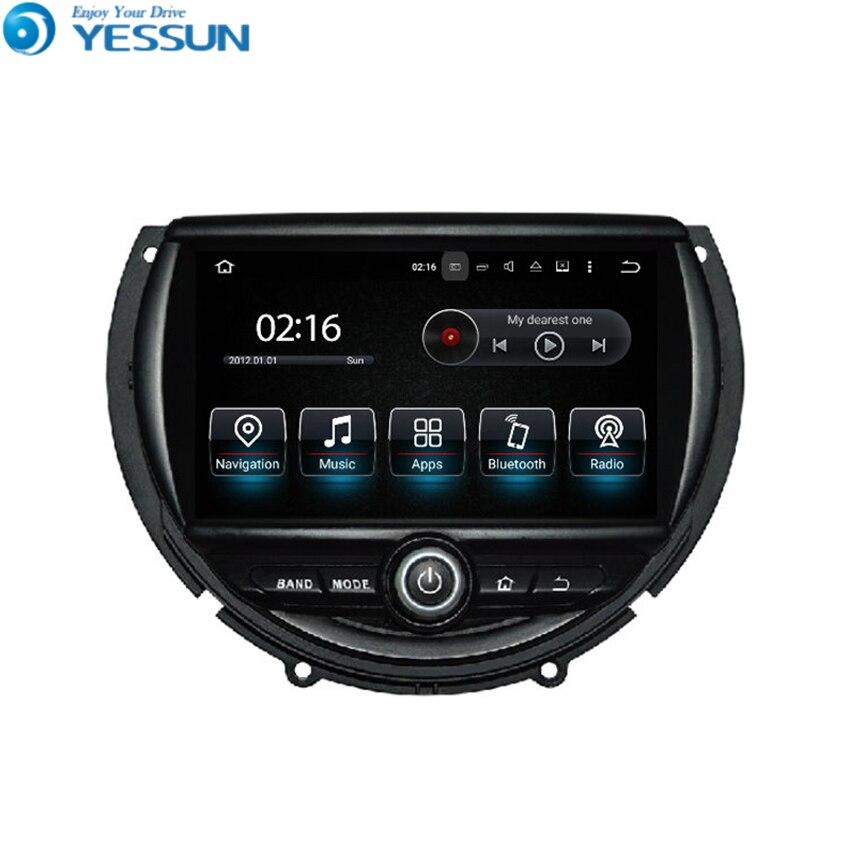 Liislee para BMW Mini 2014 ~ 2016 Android navegación del coche GPS HD pantalla táctil del coche reproductor estéreo Multimedia Audio Video Radio Navi