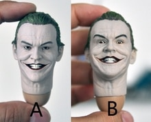 1/6 john joseph nicholson coringa cabeça masculina modelos 1989 versão para 12figures figuras corpos acessórios diy
