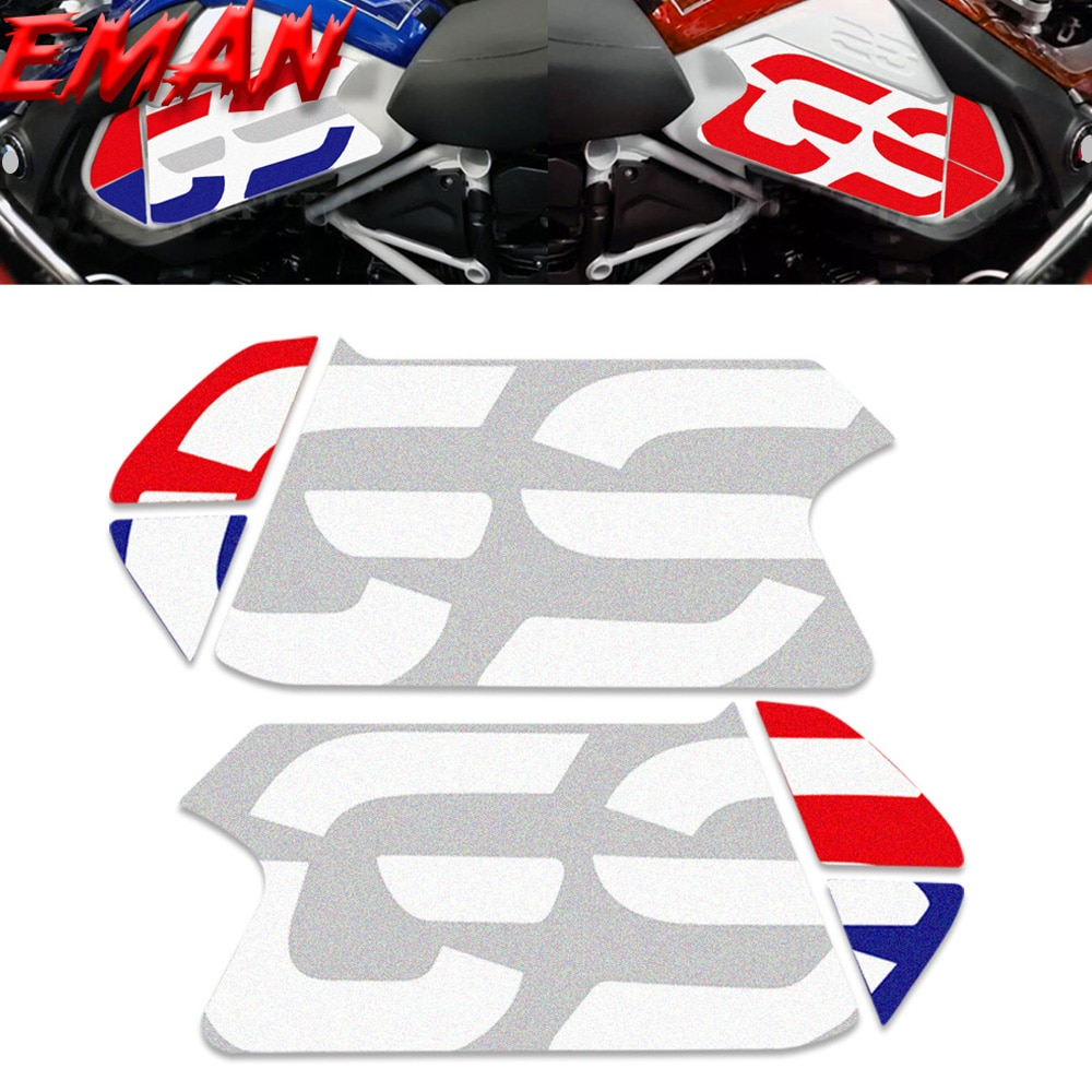 new motorcycle stickers body reflective waterproof body fuel tank logo sticker kit set for bmw hp4 hp 4 sign decal Motorcycle Sticker Gel Protector Stickers Fuel Tank Anti-Scratch Reflective for BMW R1250GS R1200GS Adventure R 1200 GS 2013-19