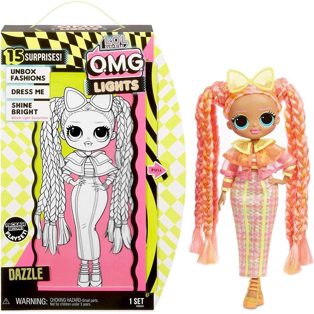 L. o. l. Surpresa! O. m. g. Dazzle moda omg lol boneca com 15 surpresas
