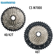 SHIMANO Deore SLX CS M7000 kassette kettenrad mountainbike MTB 11 geschwindigkeit M7000 freilauf cogs 11-40T 11 -42T 11-46T