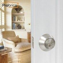 Probrico serrures de porte dissimulées   Poignées de porte encastrées pour portes intérieures, serrures invisibles mécaniques et extérieures pour matériel ignifuge