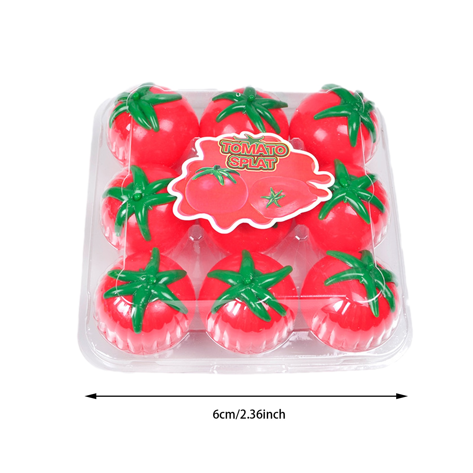 Sticky Tomato Squeeze Toy Fun Stress Reliever Toy For Kids Unbreakable Tomato Vent Water Ball Squeeze Toy enlarge