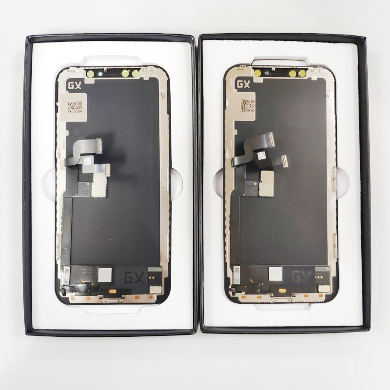 GX 100% Tested Lcd Pantalla Voor Iphone X Lcd Xs Xr 11 Lcd-scherm Touch Screen Digitizer Vergadering Voor Iphone X Xs Xsmax Oled enlarge