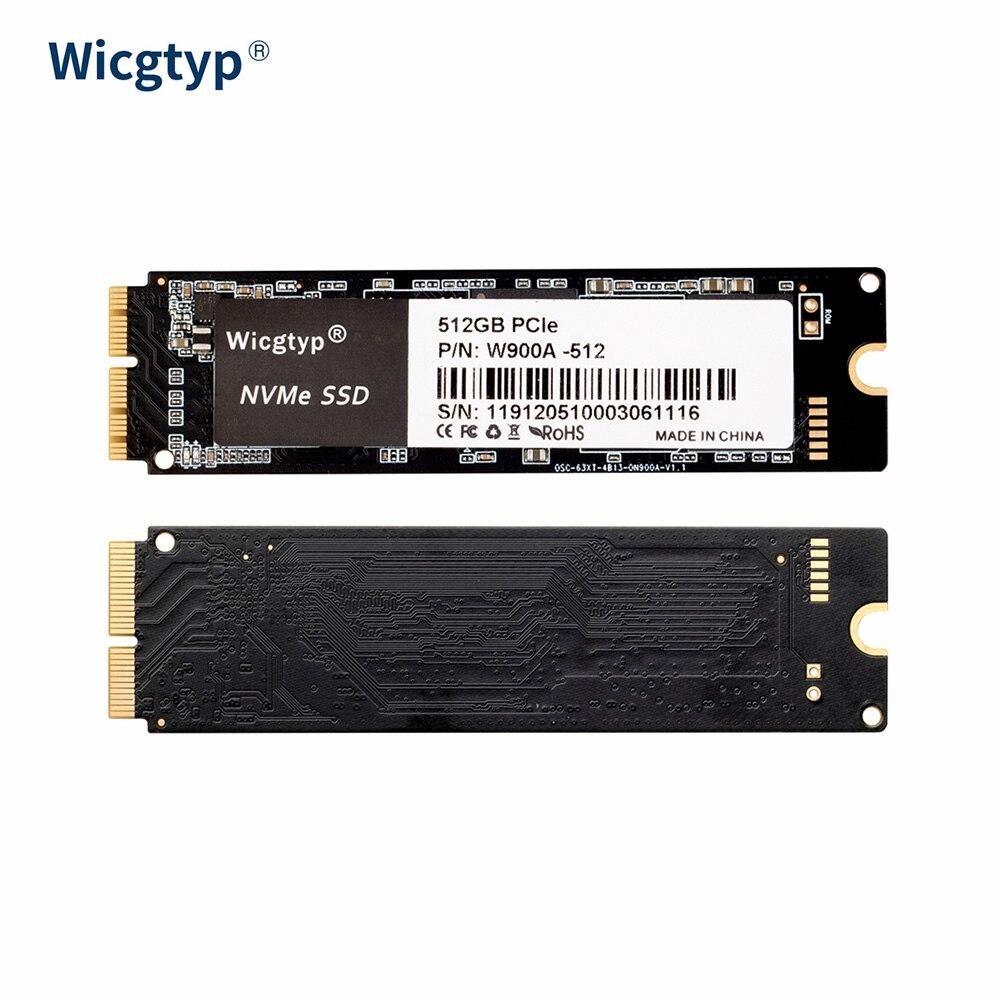 Wicgtyp جديد SSD 256GB 512 GB 1 تيرا بايت 2 تيرا بايت SSD لماك بوك برو الهواء iMac الداخلية الحالة الصلبة القرص الصلب لأجهزة الكمبيوتر المحمول 1 تيرا بايت 2 تي...