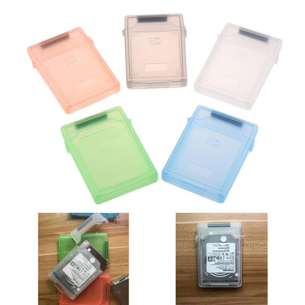 For 3.5 Inch Hard Drive Box Caddy Cover External Hard Drive Multi Disk Box Color For SATA Storage HDD Enclosure IDE H1R2