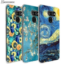 Van Gogh Star flower for LG W20 W10 V50S V50 V40 V30 K50S K40S K30 K20 Q60 Q8 Q7 Q6 G8 G7 G6 ThinQ Phone Case