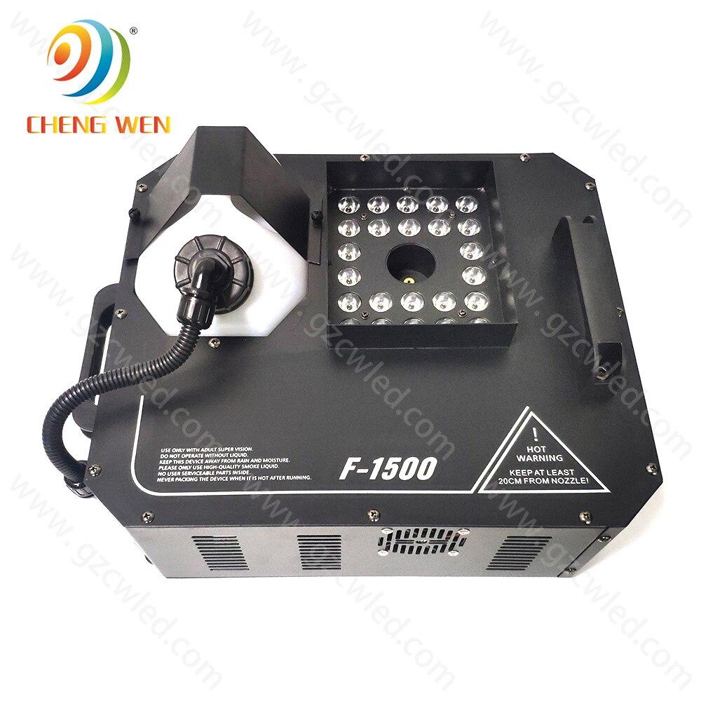 ديلي تأثير 1500 واط عمودي/حتى آلة الضباب Led آلة لصنع الدخان لتأثير المرحلة