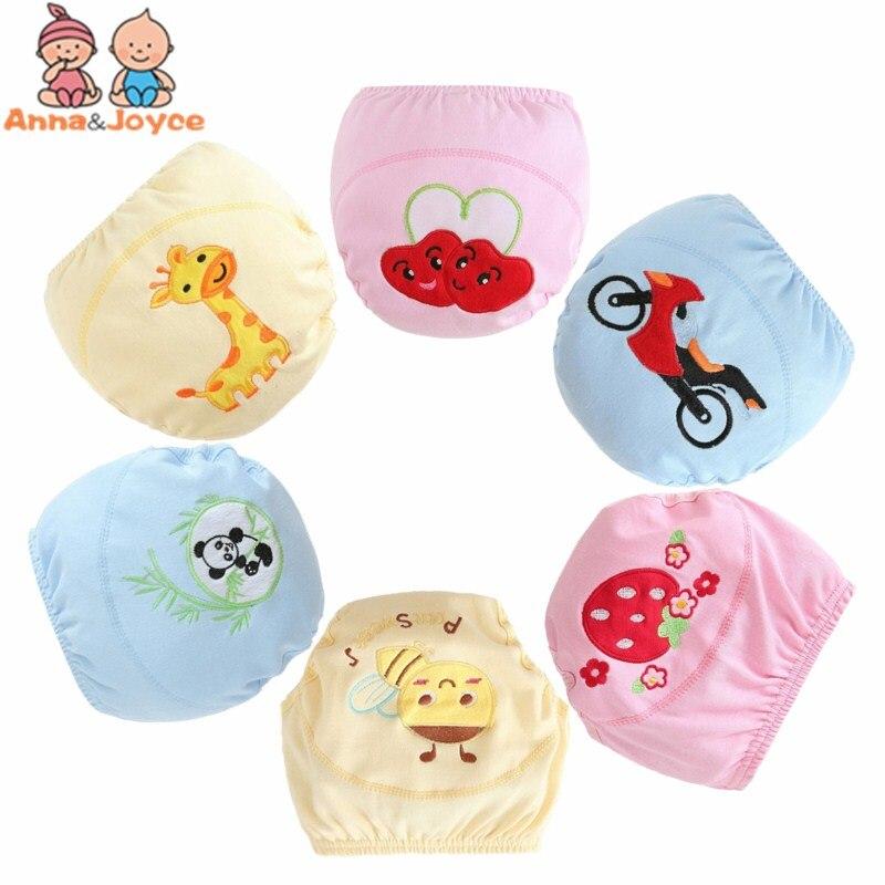 30 teile/los Baumwolle Baby Trainings Hosen Baby Windeln Kinder Unterwäsche/Mehrweg Windel Windeln Mehrweg Windeln