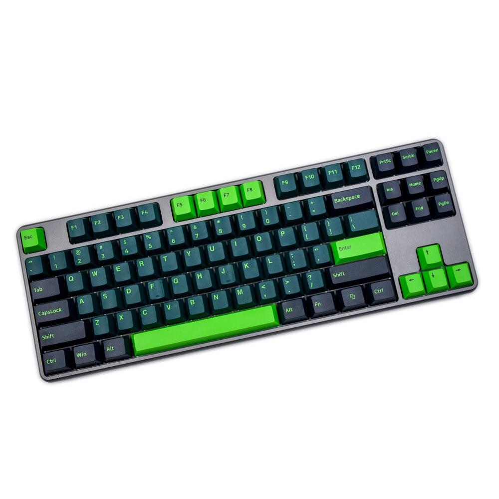 G-MKY 160 مفاتيح الكرز الشخصي غرار Keycap سونيك تسديدة مزدوجة سميكة PBT كيكابس ل MX التبديل الميكانيكية لوحة المفاتيح