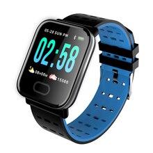 A6 Smart Watches Waterproof Smart Bracelet Bluetooth Compatible Wristband Heart Rate Monitor Sports
