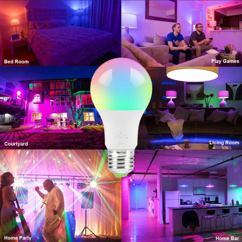Bombillas LED foco de mesa EnwYe, bombilla LED E27 E14 CA 220V 240V 20W 24W 18W 15W 12W 9W 6W 3W