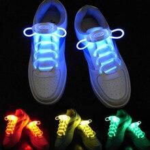 Lacci per scarpe sportive a LED Flash Light Up Glow Stick Strap lacci Party Club 2021 promozione di nuovo arrivo