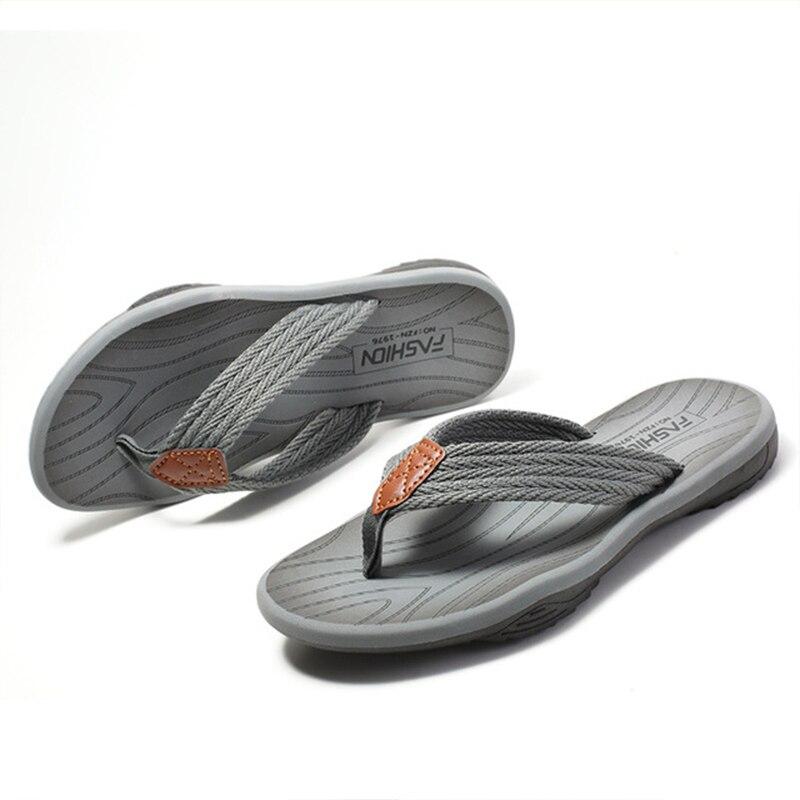 Chinelos de Eva Chinelos Masculinos Verão Sapatos Casuais Antiderrapantes Praia Sandalias Slides Tamanho Menbig