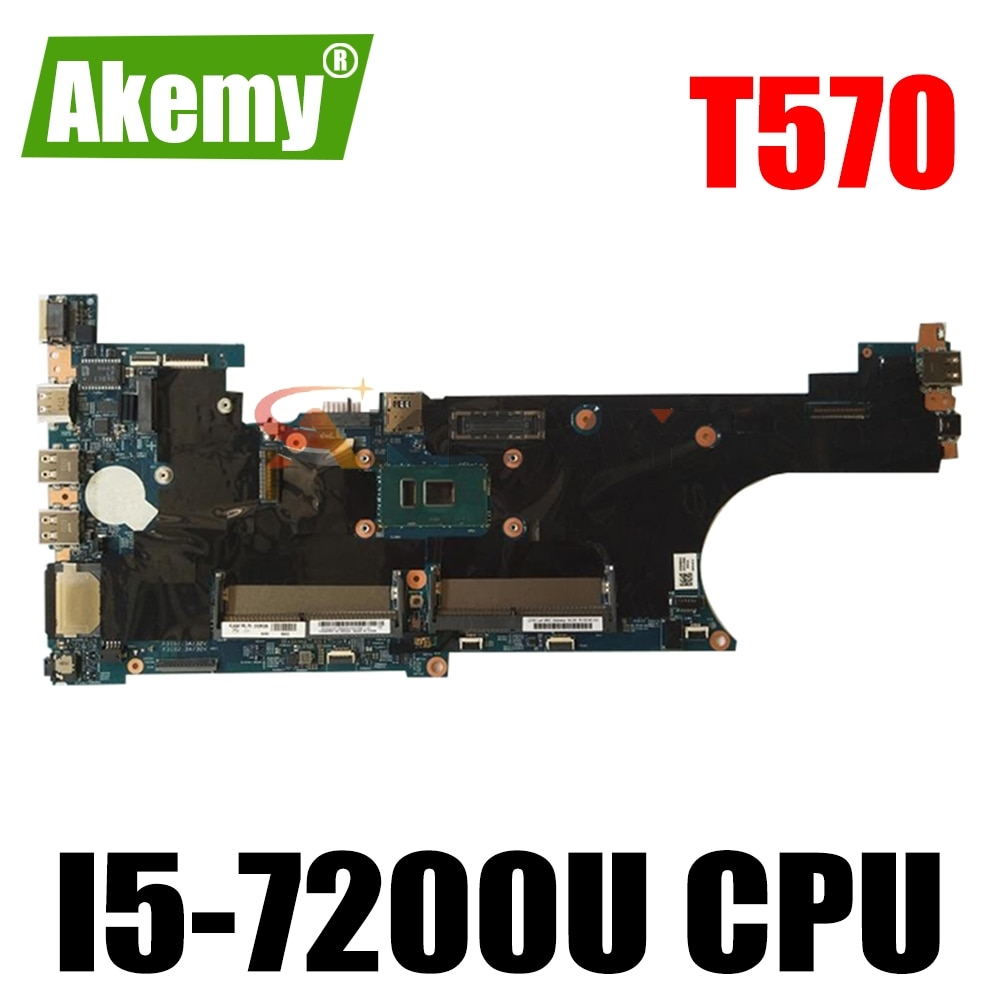 لينوفو ثينك باد T570 اللوحة المحمول I5-7200U CPU DDR4 LTS-1 448.0AB08.0011 FRU 01ER385 01YR384 01ER111 02HL384