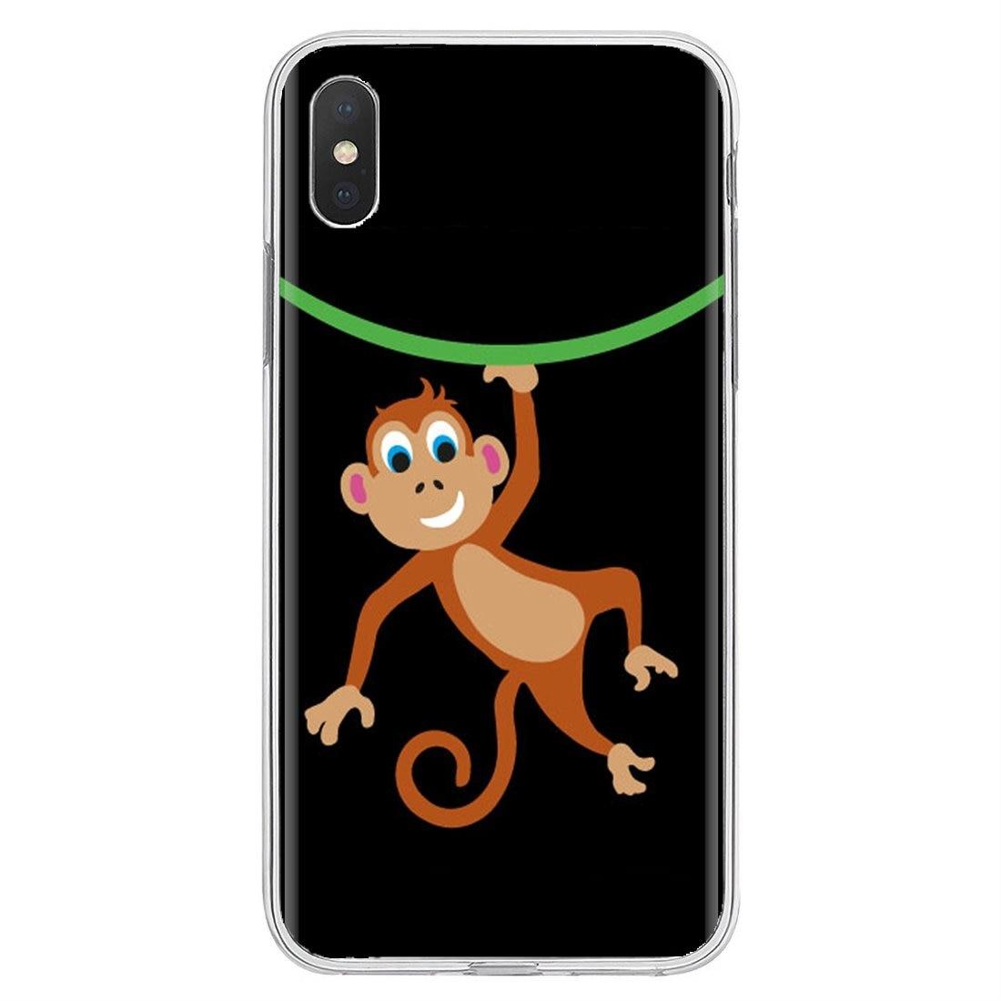 Amazing Monkey Cartoon Customised Silicone Phone Case For Huawei G7 G8 P7 P8 P9 P10 P20 P30 Lite Mini Pro P Smart 2017 2018 2019