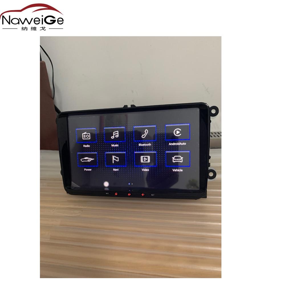 "NaweiGe 9 ""MIB-IV Android Octa core 8,1 2 + 32GB coche dvd para VW/Skoda Fabia/Octavia/Roomster/Los Beatles asiento Aeat altea/Toledo"