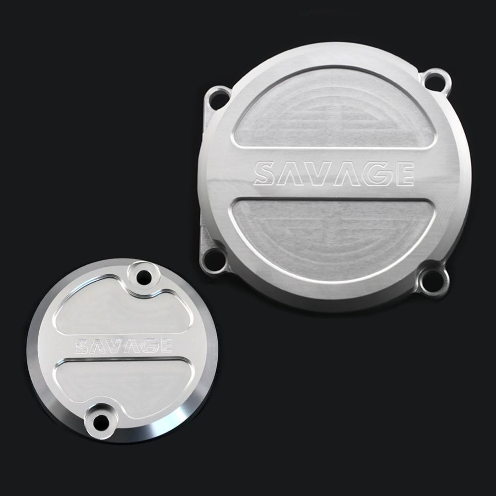 Cubierta de la bomba de aceite del cárter del estator del motor para YAMAHA XJR1300/C 1998-2018/ XJR1200 1994-1998 accesorios de motocicleta XJR 1200/1300