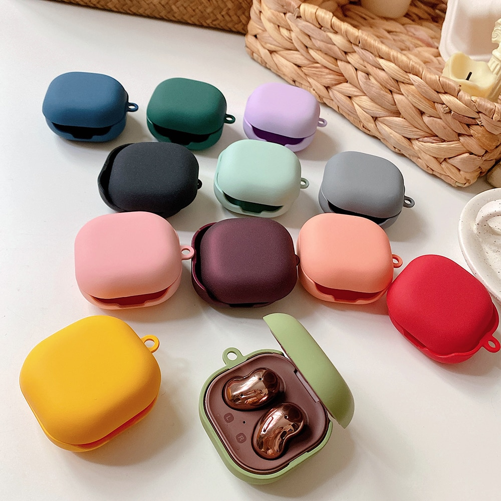 For Samsung Galaxy Buds Live Hard Case Protective Candy Color Earphone Case For Samsung Galaxy buds
