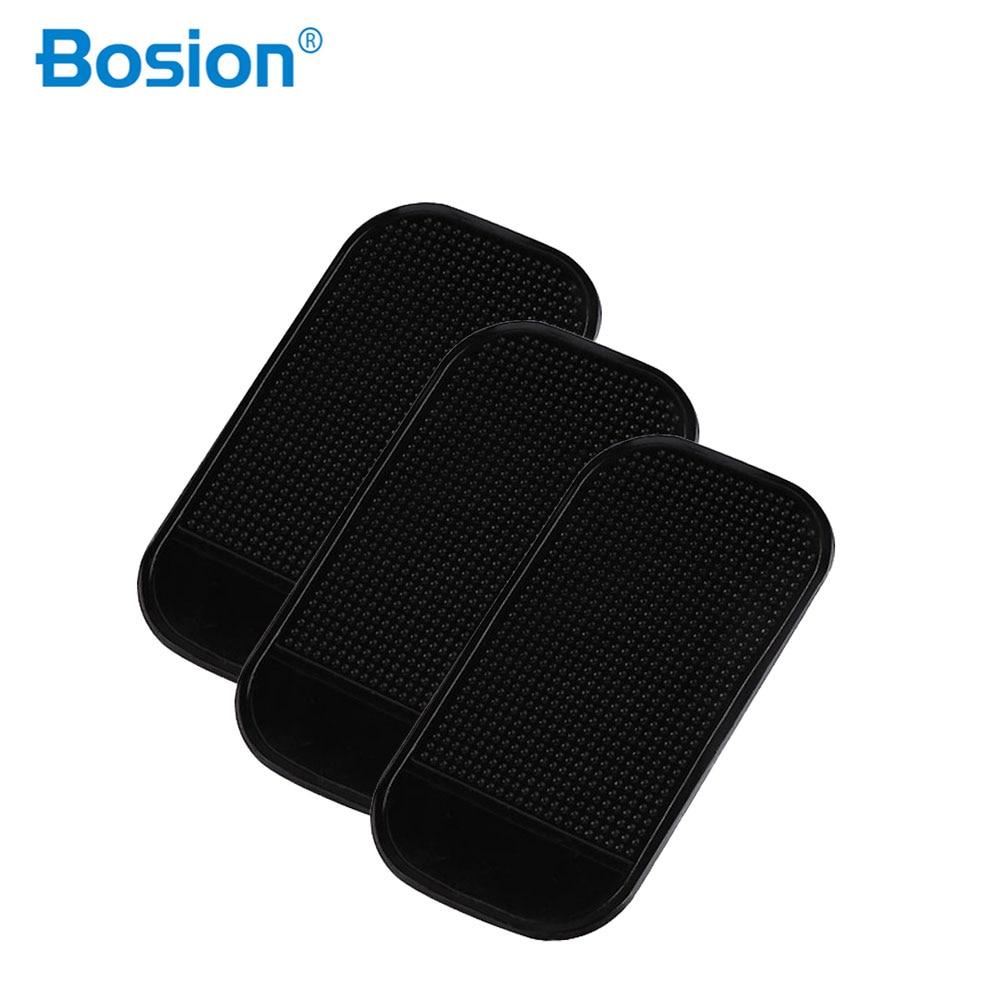 3pcs/lot Powerful Silicone Car Anti Slip Mat Magic Dash Mat Dashboard Sticky Pad For Phone GPS PDA Non Slip Pad Car Sticker
