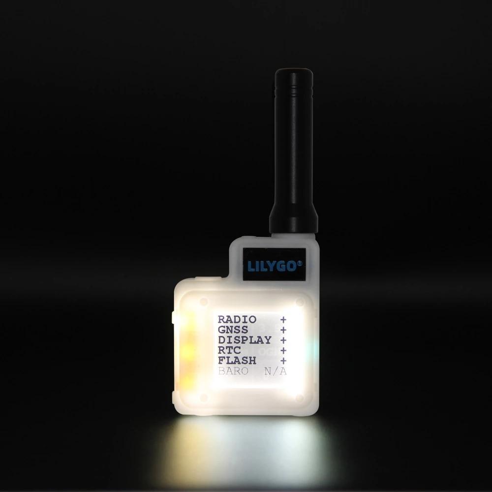 LILYGO® T-Echo BME280 TEMP Pressure Sensor NRF52840 SX1262 433 / 868 / 915MHz Module LORA GPS 1.54 E-Paper BLE NFC for Arduino enlarge