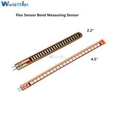 Sensor flexible de 2,2 pulgadas Sensor flexible para guantes electrónicos de mano robótica Flex2.2 flex4.5 Sensor flexible 4,5