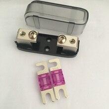 Good Quality Car Audio Auto Mini ANL AFS Car Fuse Holder Block with 2pcs Fuses