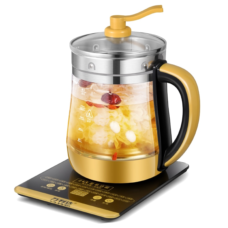 Multifunction Electric Kettle 1.8L Smart Health Pot Household Chaleiras Eléctricas Boiling Water Scented Tea Decocting Heating health pot household tea maker multifunction electric kettle smart touch hot water heating insulation kettle decocting pot