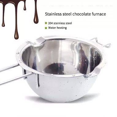 304 stainless steel chocolate water melting bowl baking heating pot butter heating melting bowl