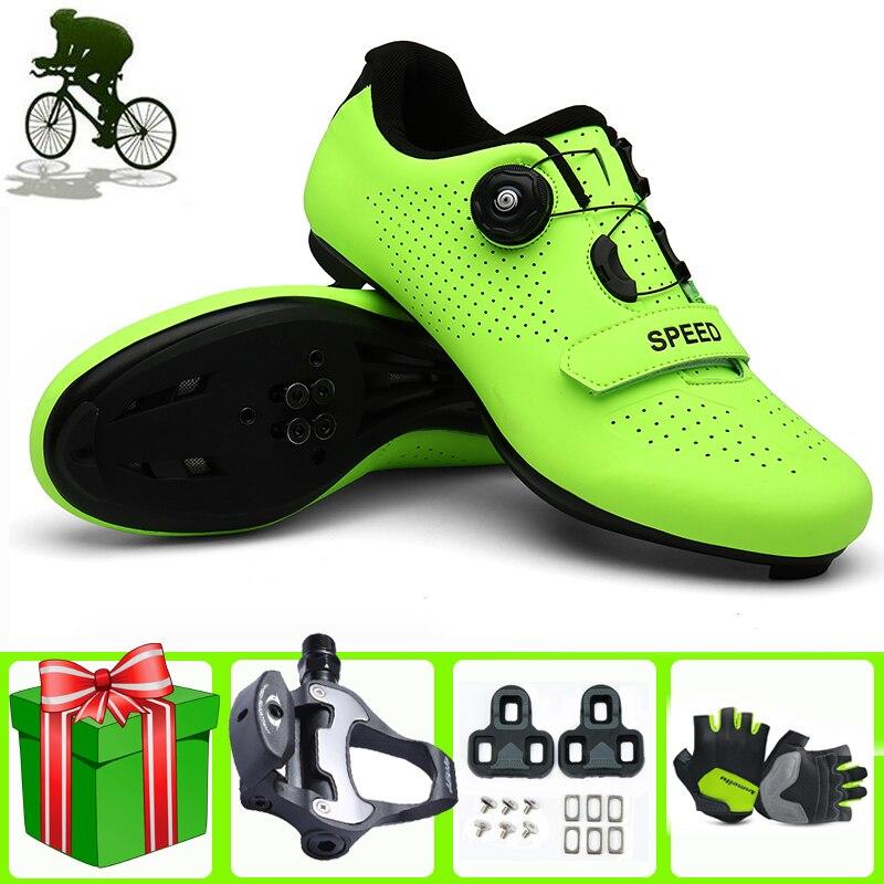 Cycling Shoes Men SPD-SL Road Bike Sneakers Outdoor Professional Mountain Bicycle Zapatillas De Ciclismo Bicicleta Carretera
