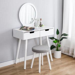 80*40*128CM Dressing Table Furniture Bedroom Dressing Table Master Simple Makeup Table Nordic Wind Small Storage Table HWC